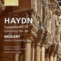 Haydn: Symphonies Nos. 26 & 86 & Mozart: Violin Concerto No. 3