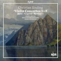 Sinding: The Works for Violin & Orchestra