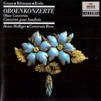 Graun, Krebs & Telemann: Oboe Concertos