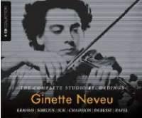 Ginette Neveu: The Complete Studio Recordings