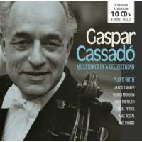 Gaspar Cassadó: Milestones Of A Cello Legend