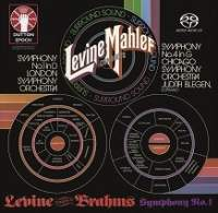 Levine conducts Mahler and Brahms: Symphonies Nos. 1 & 4