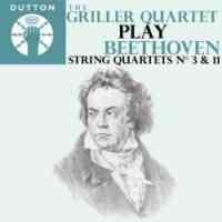 Beethoven: String Quartets Nos. 3 & 11