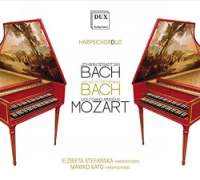 J S Bach, W F Bach & Mozart: Works for Harpsichord Duo