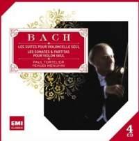 JS Bach: Cello Suites and Partitas & Sonatas for Solo Violin