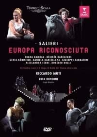 Salieri: L'europa Riconosciuta (DVD)