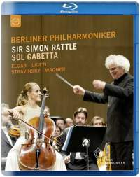 Elgar: Cello Concerto, and works by Ligeti, Stravinsky & Wagner (Blu-ray)