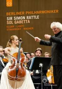 Elgar: Cello Concerto, and works by Ligeti, Stravinsky & Wagner (DVD)