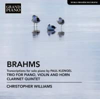 Brahms: Transcriptions for Solo Piano by Paul Klenge