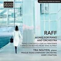 Joachim Raff: Works for Piano and Orchestra