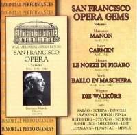 San Francisco Opera Gems: Volume 1