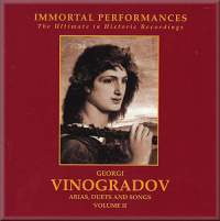 Georgi Vinogradov: Arias, Duets and Songs Vol. 2