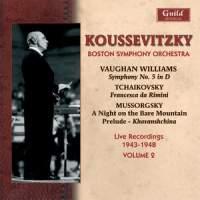 Serge Koussevitzky and the Boston Symphony Orchestra - 1943-1948