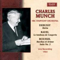 Charles Munch conducts Debussy, Ravel & Roussel