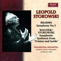 Stokowski conducts Brahms & Wagner