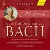 CPE Bach Edition: Symphonies, Concertos, Sonatas, Chamber Music