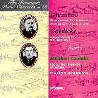 The Romantic Piano Concerto 13 - Glazunov and Goedicke
