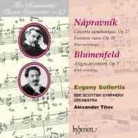 The Romantic Piano Concerto 37 - Nápravník & Blumenfeld
