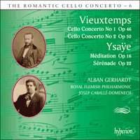 The Romantic Cello Concerto, Vol. 6: Ysaye & Vieuxtemps
