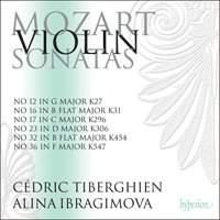 Mozart: Violin Sonatas Volume 3 (out 31st March)