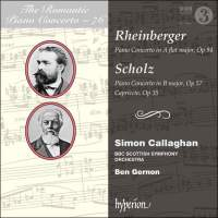 The Romantic Piano Concerto 76 - Rheinberger & Scholz