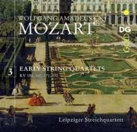 Mozart: Early String Quartets Vol. 3