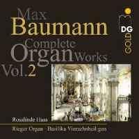 Baumann: Organ Works Vol. 2