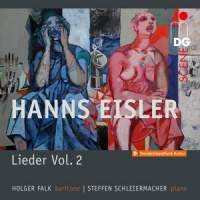 Eisler: Lieder Vol. 2 Songs And Ballads