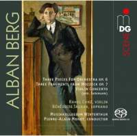 Berg: Fragments From Wozzeck, 3 Pieces For Orchestra & Violin Concerto
