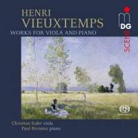 Vieuxtemps: Works for Viola & Piano