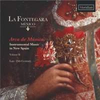 Arca de Musica, Instrumental Music in New Spain, Volume 2