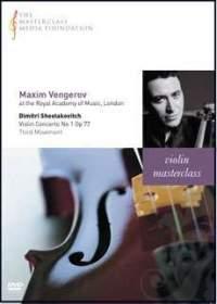 Maxim Vengerov - Shostakovich: Violin Concerto No. 1