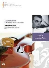 Zakhar Bron - Brahms Violin Concerto