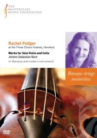 Rachel Podger at the Three Choirs Festival