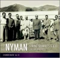 Nyman: String Quartets Nos. 5 & 4
