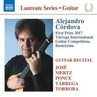 Alejandro Córdova Guitar Laureate Recital