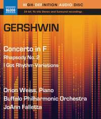 Gershwin: Piano Concerto in F & Rhapsody No. 2
