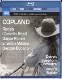 Copland: Rodeo (Complete Ballet), Dance Panels, El Salón México & Danzón Cubano