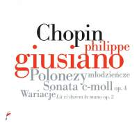 Chopin: Polonaises, Sonata in C minor Op. 4