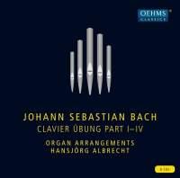 JS Bach: Clavier Übung Part I-IV