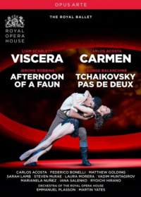 Viscera, Carmen, Afternoon of a Faun & Tchaikovsky pas de deux
