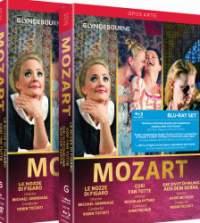 Mozart: Cosi fan tutte&#x3B; Die Entfuhrung aus dem Serail&#x3B; Le nozze di Figaro
