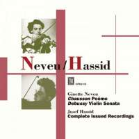 Ginette Neveu & Josef Hassid: Recordings