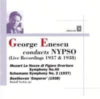 George Enescu conducts NYPSO