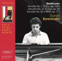 Beethoven: Piano Sonatas Nos 7, 21 & 32