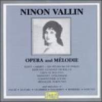 Ninon Vallin in Opera and Melodie