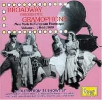 Broadway Through the Gramophone
