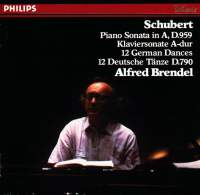 Schubert: Piano Sonata in A & German Dances