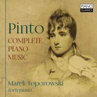 George Frederick Pinto: Complete Piano Music