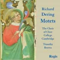 Dering: Eighteen Latin Motets